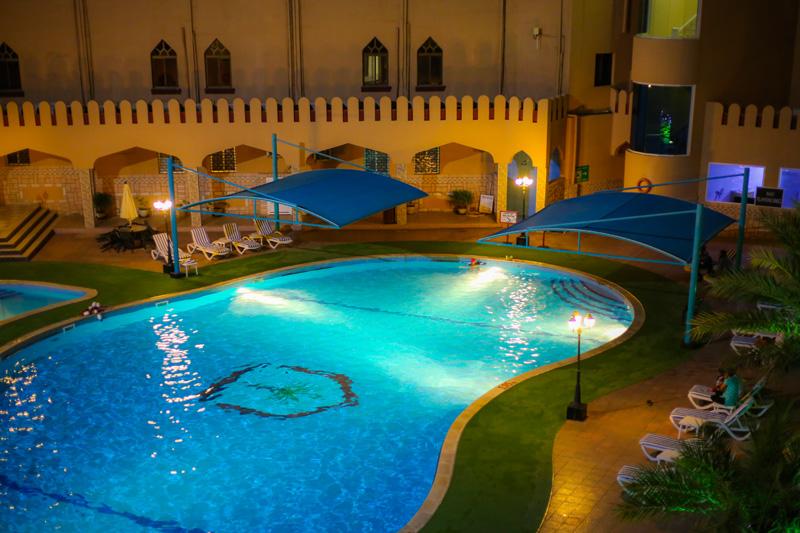 oman-hotel-majan-continental-muscat-pool