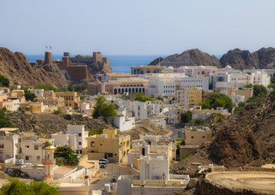 oman-maskat-old-muscat-rundreise-sultanspalast-fort-jalali-mirani
