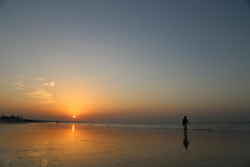 oman-maskat-strand-qurum-beach-sonnenuntergang