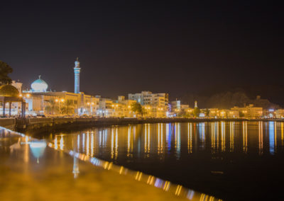 oman-matrah-corniche-strandpromenade-rundreise-nachts