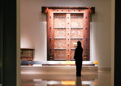 oman-muscat-national-museum-holz-haustuer
