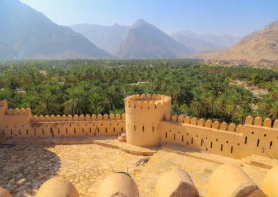 oman-nakhal-fort-burg-berge-palmen