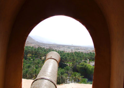 oman-nakhal-fort-burg-fenster-kanone-tour