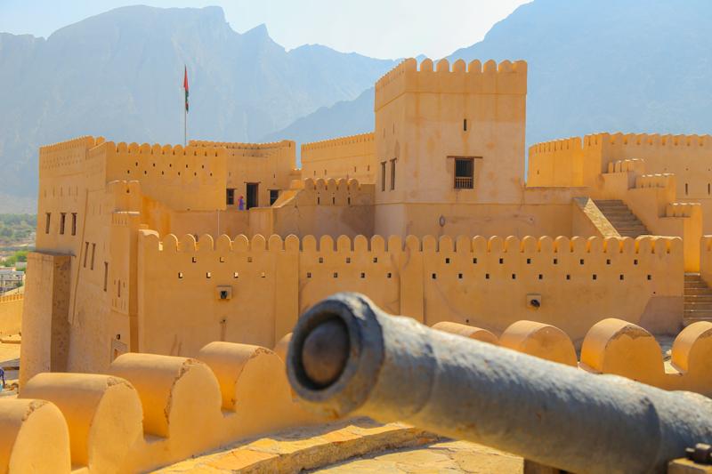 oman-nakhal-fort-burg-gemaeuer