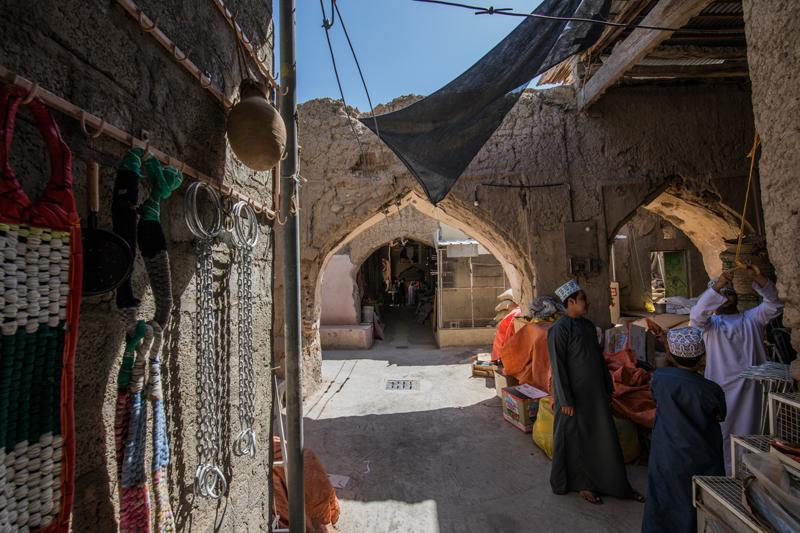 oman-nizwa-souq-basar-kinder-rundreise-tour