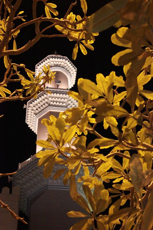 oman-nizwa-urlaub-minarett-moschee