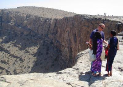 oman-rundreise-jabal-shams-grand-canyon-beduinen