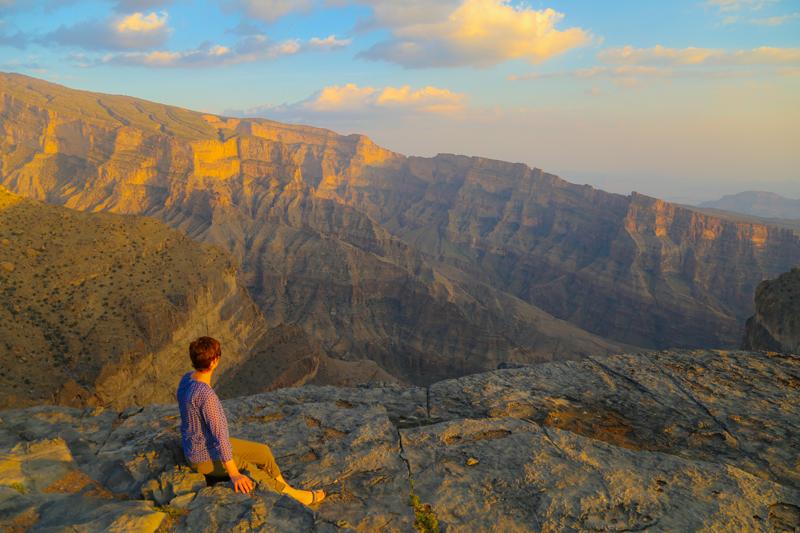 oman-rundreise-jabal-shams-grand-canyon-blick