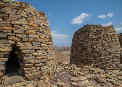 oman-rundreise-ruinen-al-ayn_jabal-misht-steine