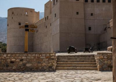 oman-rustaq-fort-eingang-reise