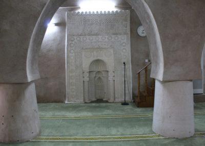 oman-rustaq-fort-moschee-mihrab-rundreise