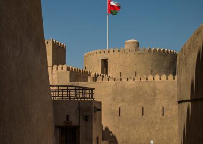 oman-rustaq-fort-rundturm-rundreise