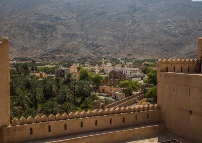 oman-rustaq-fort-stadt-reise