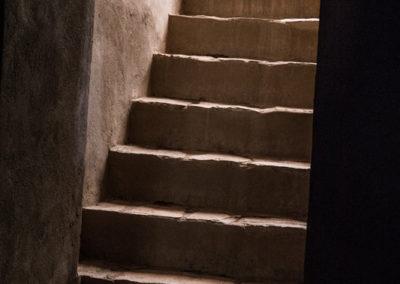 oman-rustaq-fort-treppe-detail