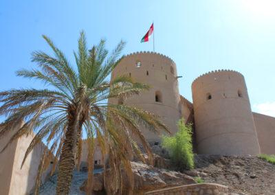 oman-rustaq-fort-wachturm-rundreise