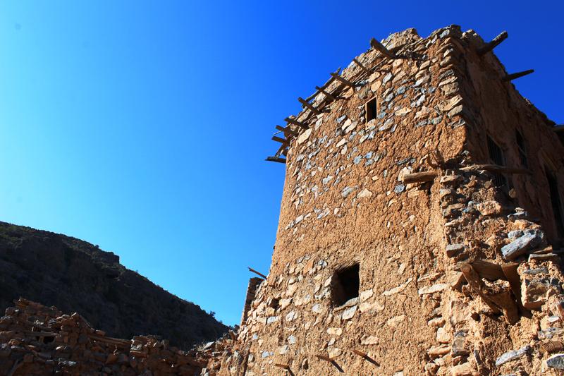 oman-sayq-plateau-ruine-wadi-bani-habib-rundreise