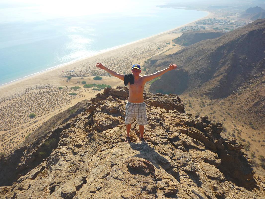 oman-tagestour-strand-as-sifah-beach-aussicht