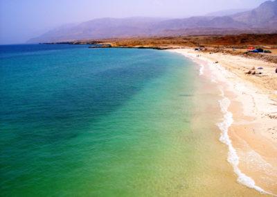 oman-fins-beach-weisser-sandstrand