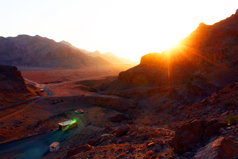 iran-tour-kultur-reise-chek-zarathustra-sonnenuntergang