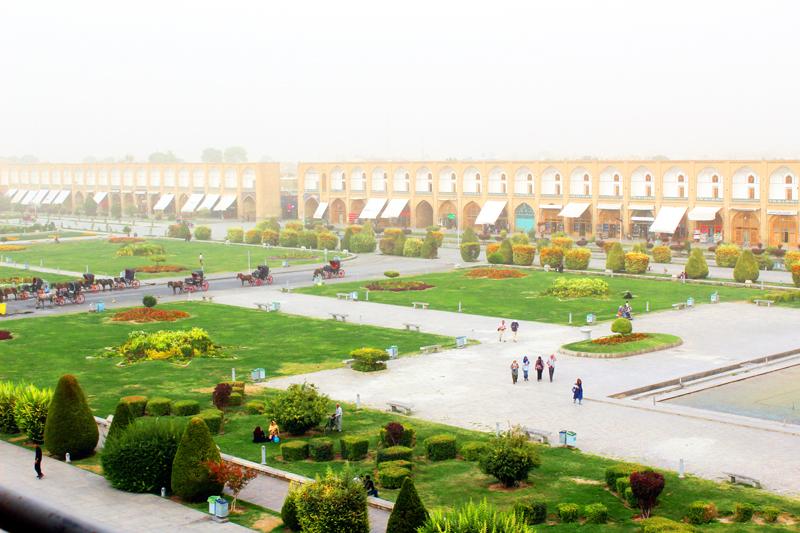 Naghsh-e Jahan Isfahan Iran