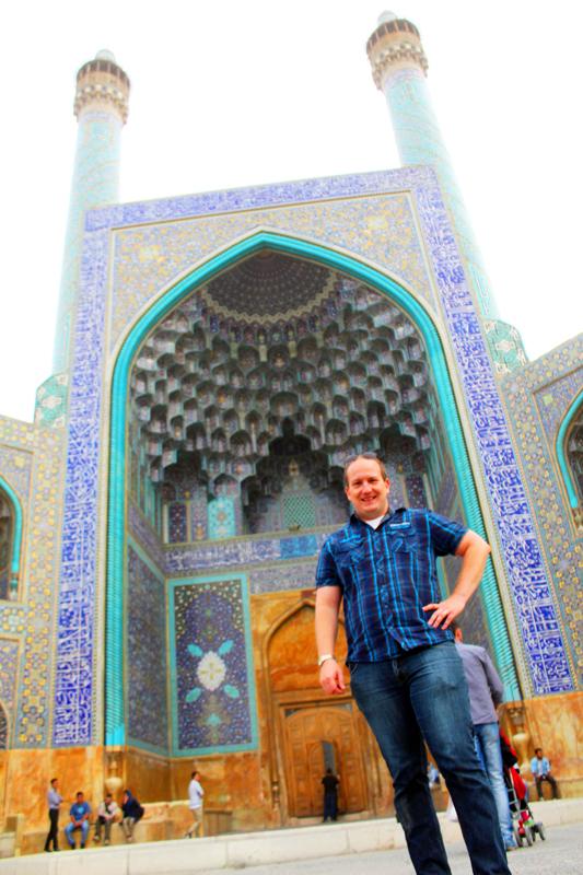 Übrigens darf die Shah Moschee in Isfahan bei einer Kulturreise durch Iran nicht fehlen