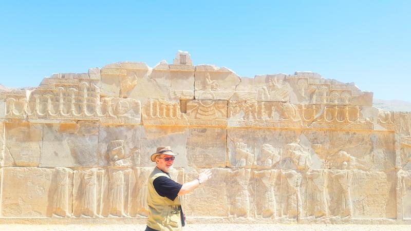 Übrigens ist es erstaunlich in welch gutem Zustand die Reliefs aus der Zeit der Achämeniden im iranischen Persepolis sind