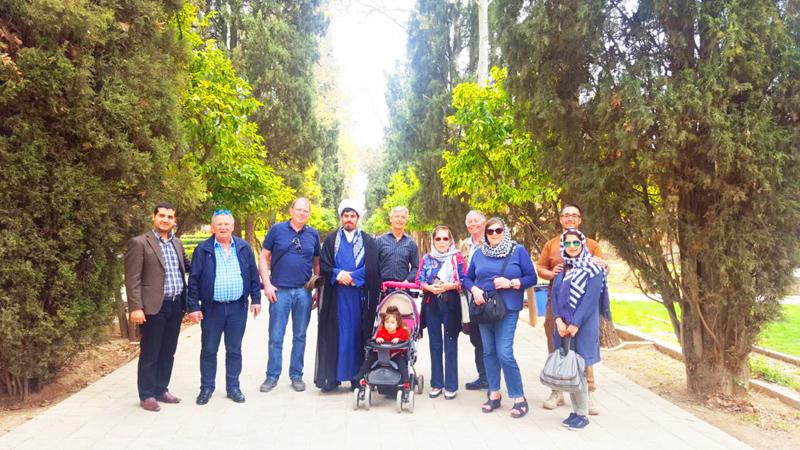In Shiraz während der Rundreise Iran in kleiner Gruppe