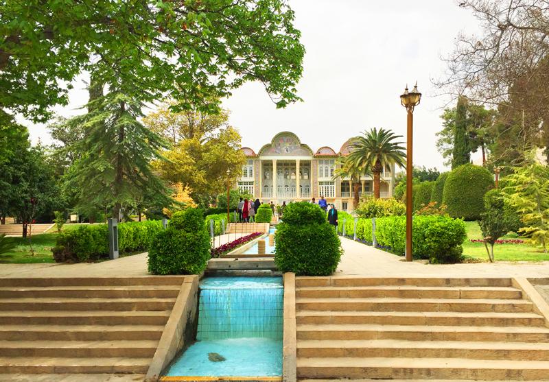Persischer Garten Narenjestan Shiraz in Iran