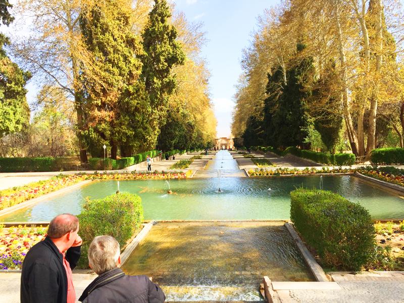 Garten Narenjestan Shiraz in Iran