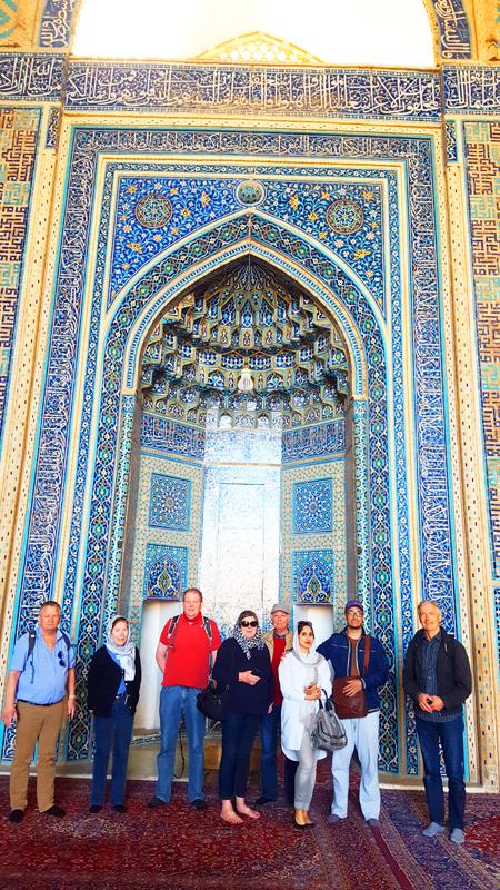 Rundreise Iran kleine Gruppe