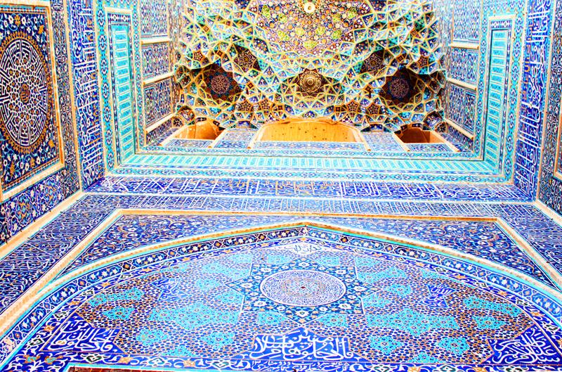 Jamee Moschee Yazd in Iran